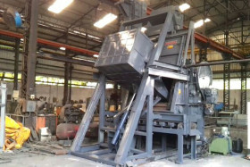 Steel Conveyor Tumblast Shot Blasting Machine