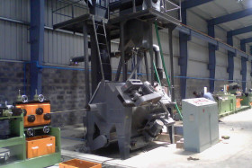 Inline Wire Rod Shot Blasting Machine
