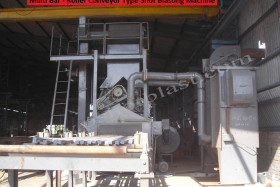 Multi Bar Shot Blasting Machine