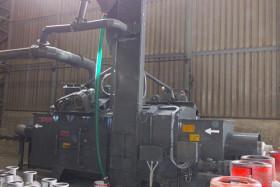 Cylinder Shot Blasting Machine